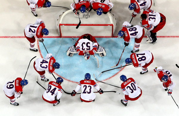 Czech national identity hockey